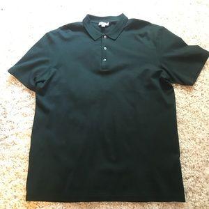COS dark green polo shirt size medium